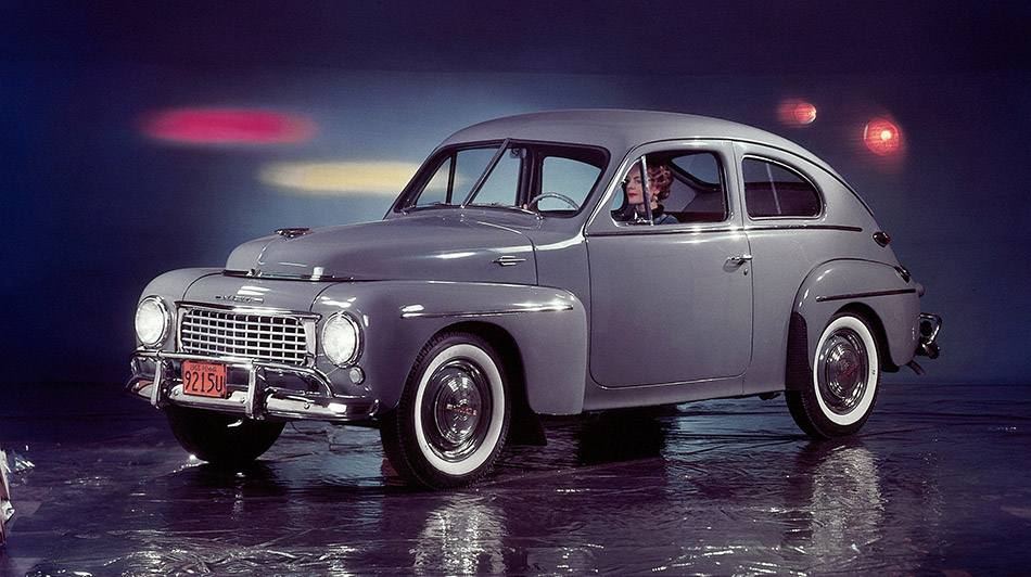 1946 Volvo PV444 Front Angle