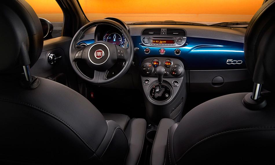 2015 Fiat 500 Interior