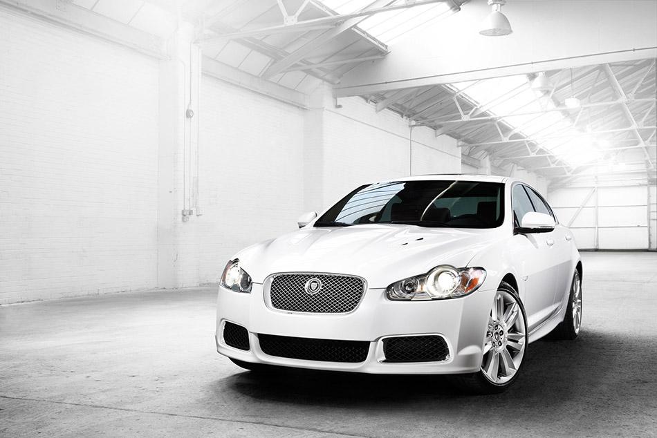 2010 Jaguar XFR Front Angle