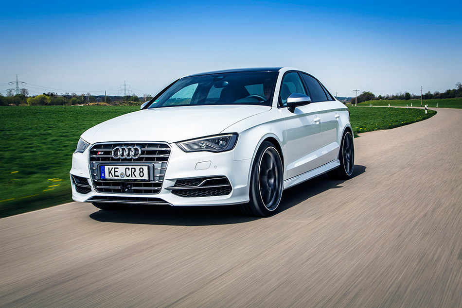 2014 ABT Audi S3 Saloon Front Angle
