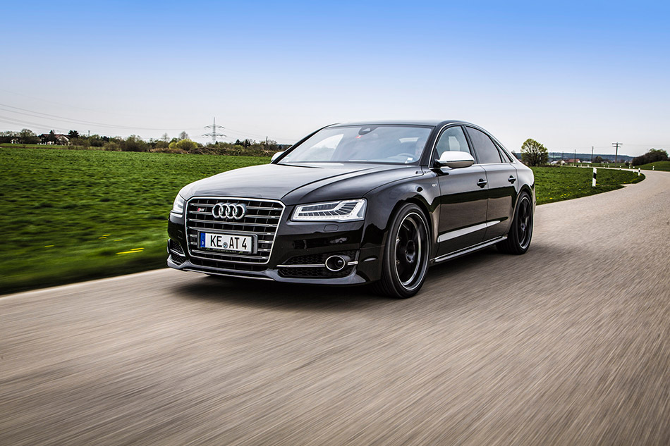 2014 ABT Audi S8 Facelift Front Angle