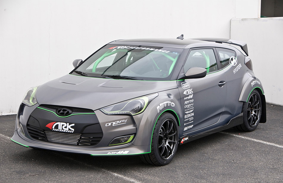 2012 ARK Hyundai Veloster Front Angle