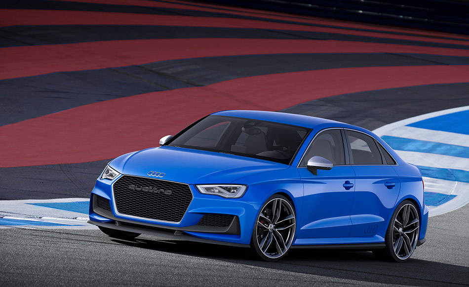 2014 Audi A3 Clubsport quattro Concept Front Angle