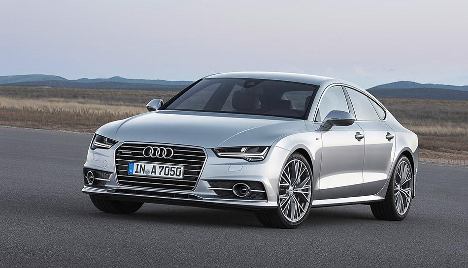2014 Audi A7 Sportback Front Angle