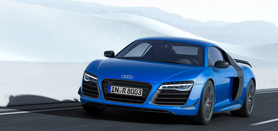 2014 Audi R8 LMX Front Angle