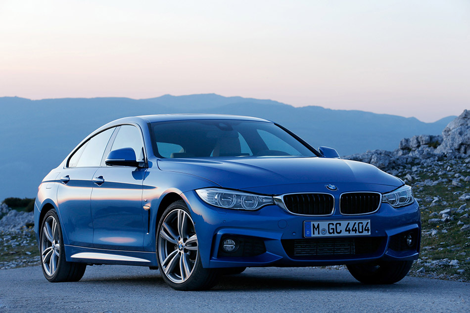 2015 BMW 428i Gran Coupe M Sport Front Angle