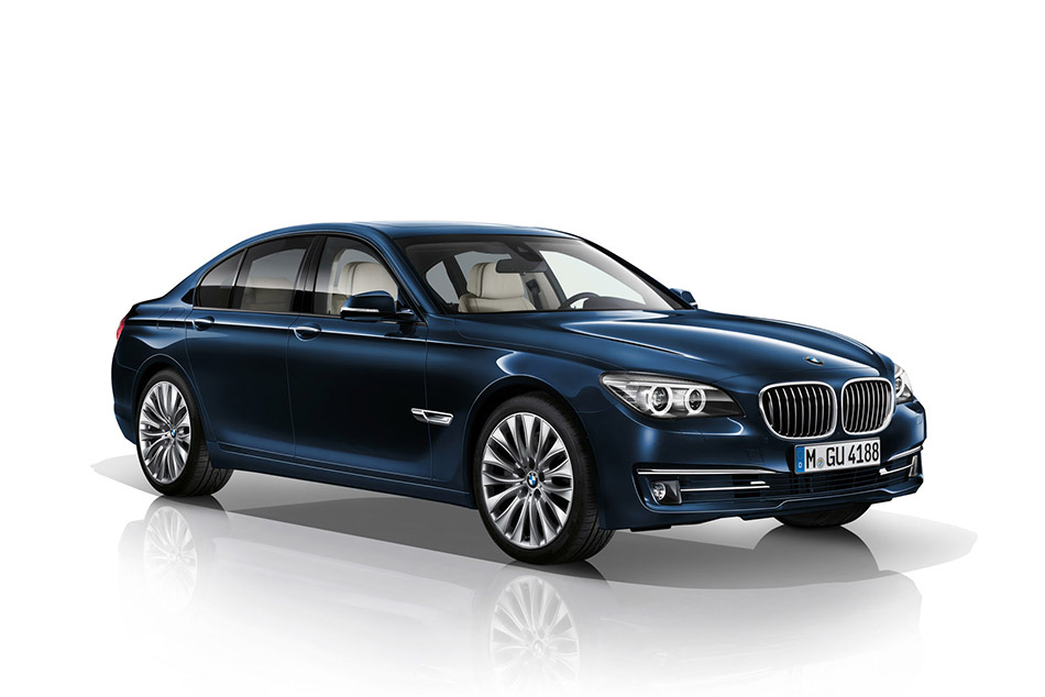 2014 BMW 7 Series Edition Exclusive  Front Angle