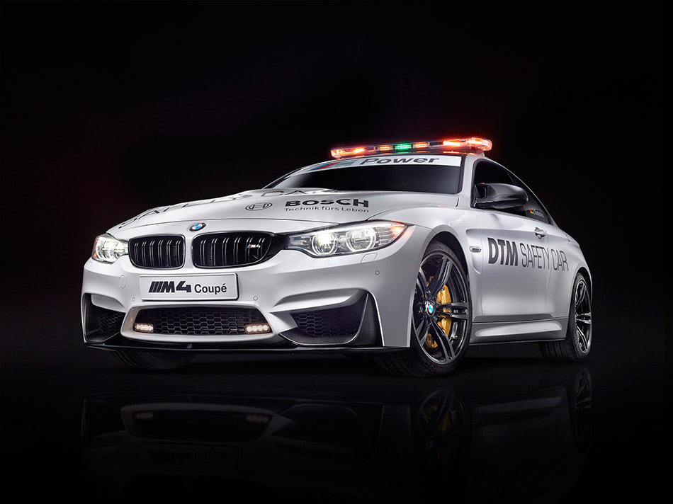 2014 BMW M4 Coupe DTM Safety Car Front Angle