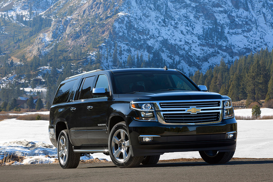 2015 Chevrolet Suburban Front Angle