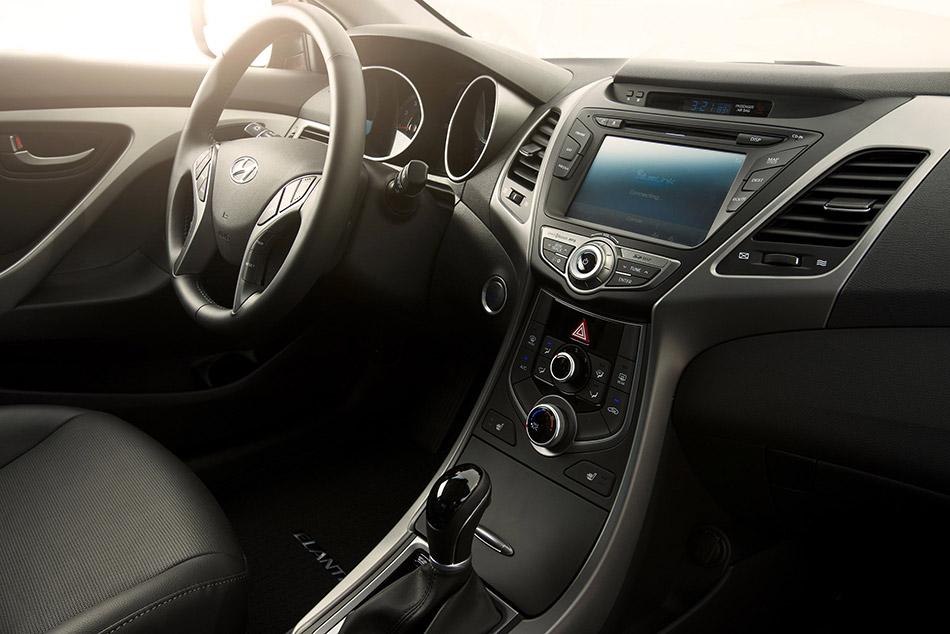 2014 Hyundai Elantra Coupe Interior