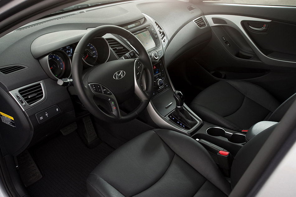 2014 Hyundai Elantra Sedan Interior