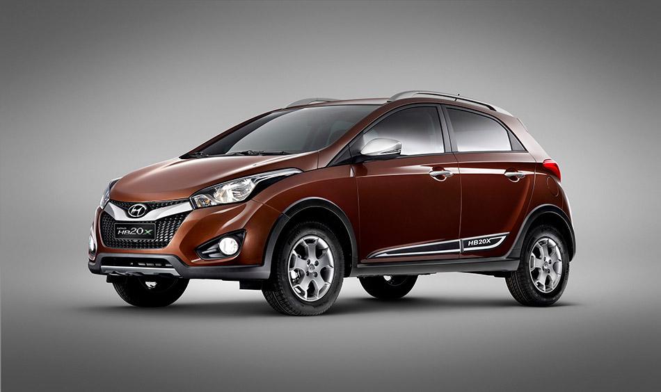 2013 Hyundai HB20X Front Angle