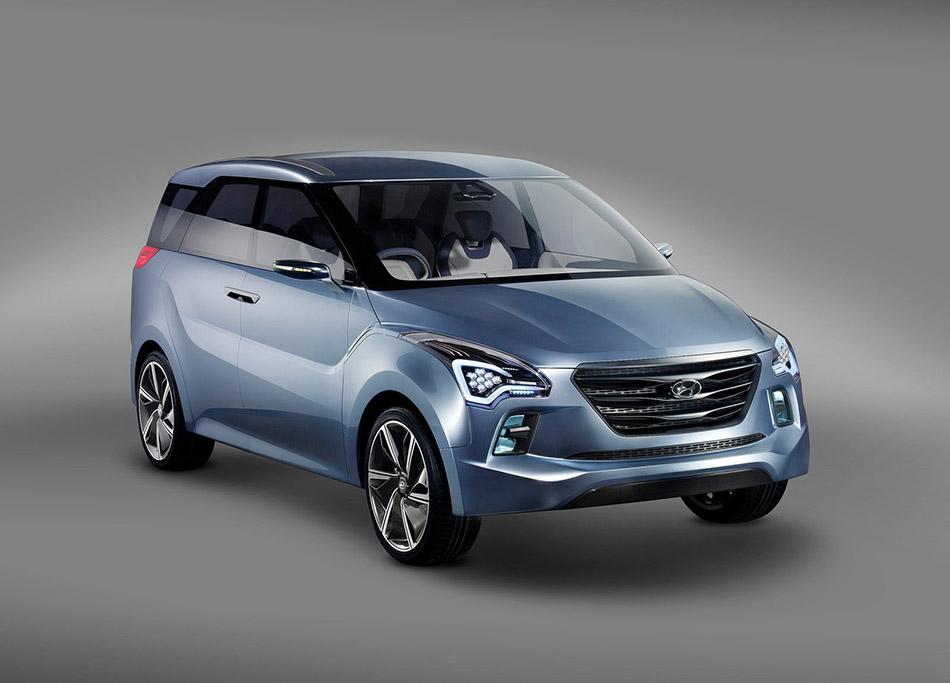 2012 Hyundai Hexa Space Concept Front Angle