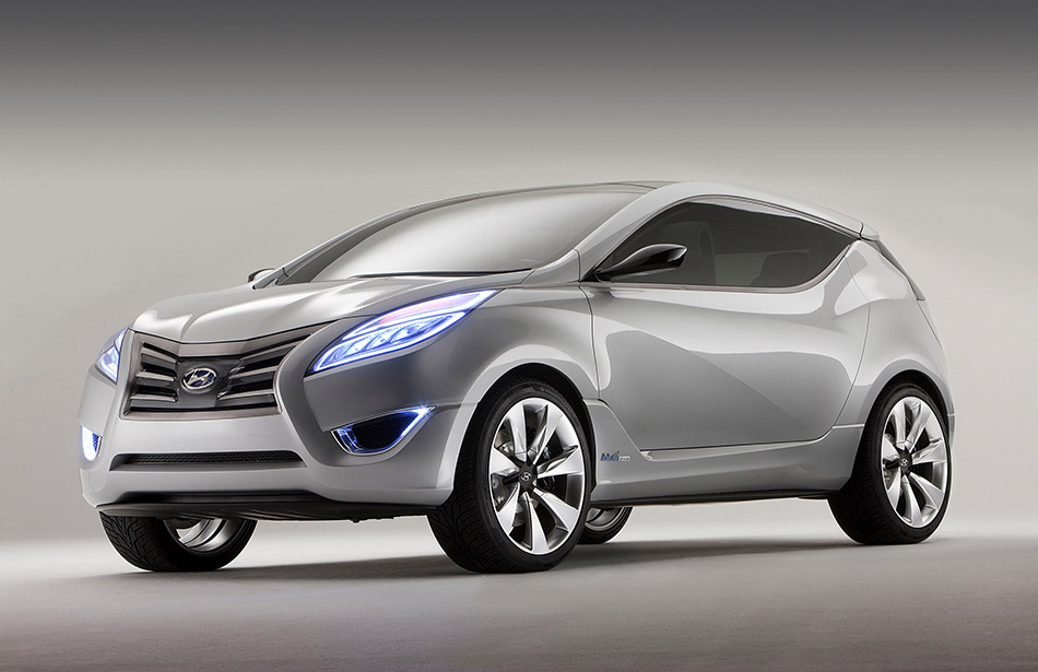 2009 Hyundai Nuvis Concept Front Angle