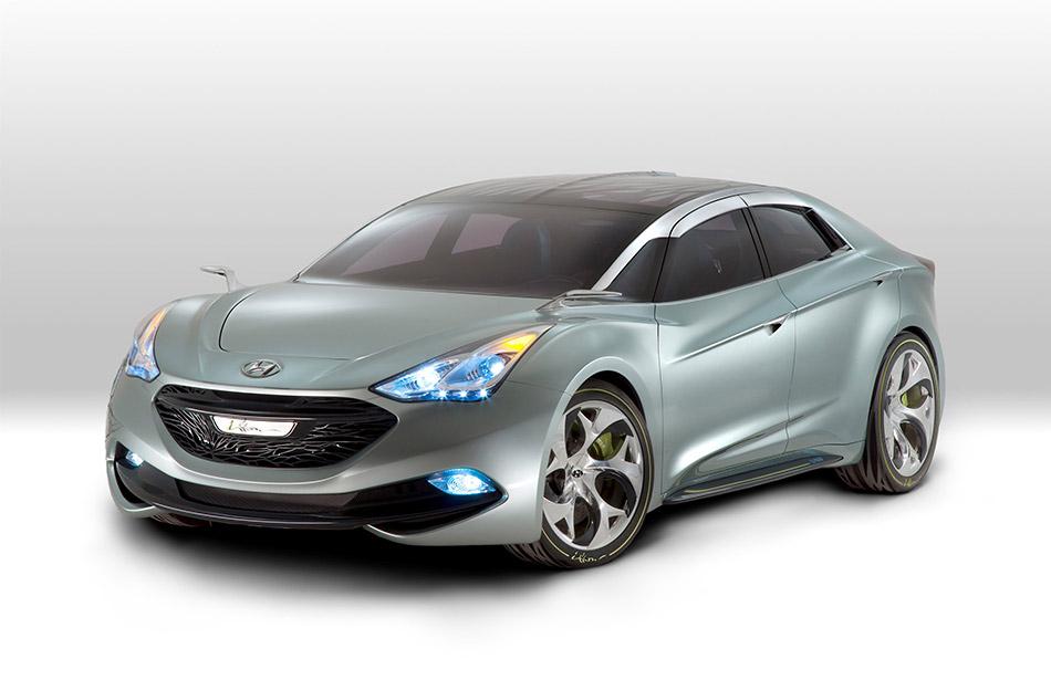 2011 Hyundai i-flow Concept Front Angle