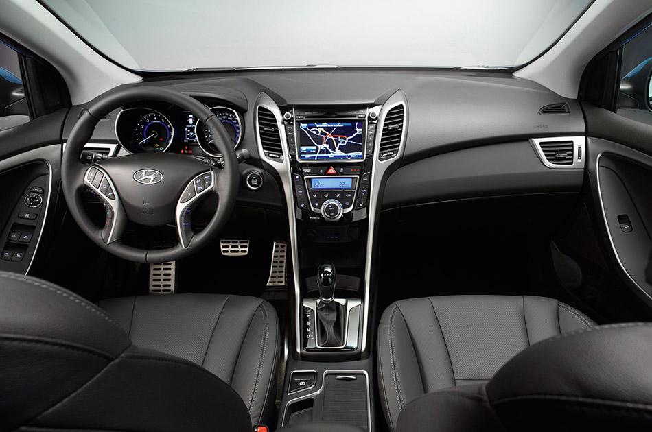 2013 Hyundai i30 Interior
