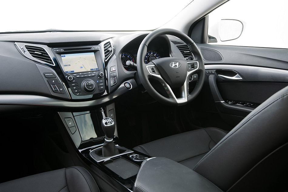 2012 Hyundai i40 Tourer UK Version Interior