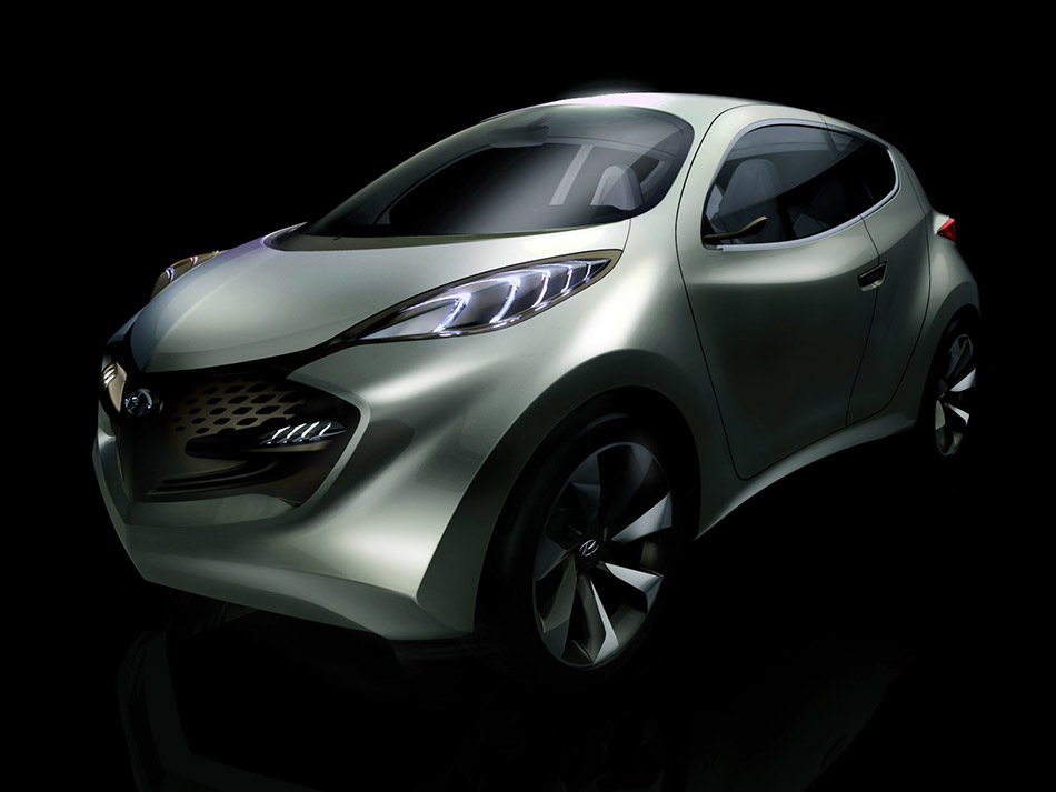 2009 Hyundai ix-Metro Concept Front Angle