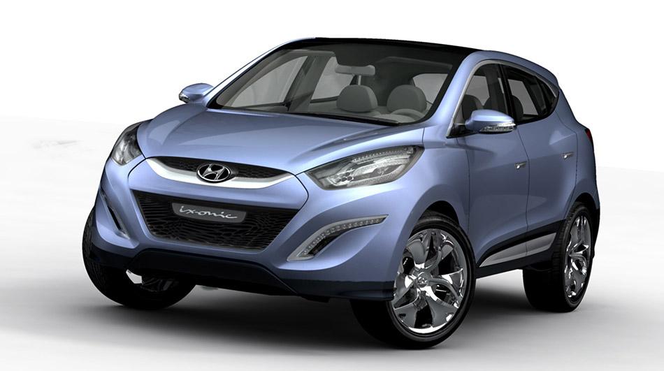 2009 Hyundai ix-onic Concept Front Angle