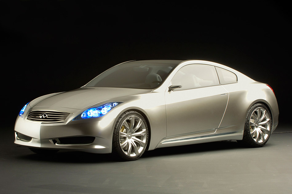 2006 Infiniti Coupe Concept Front Angle