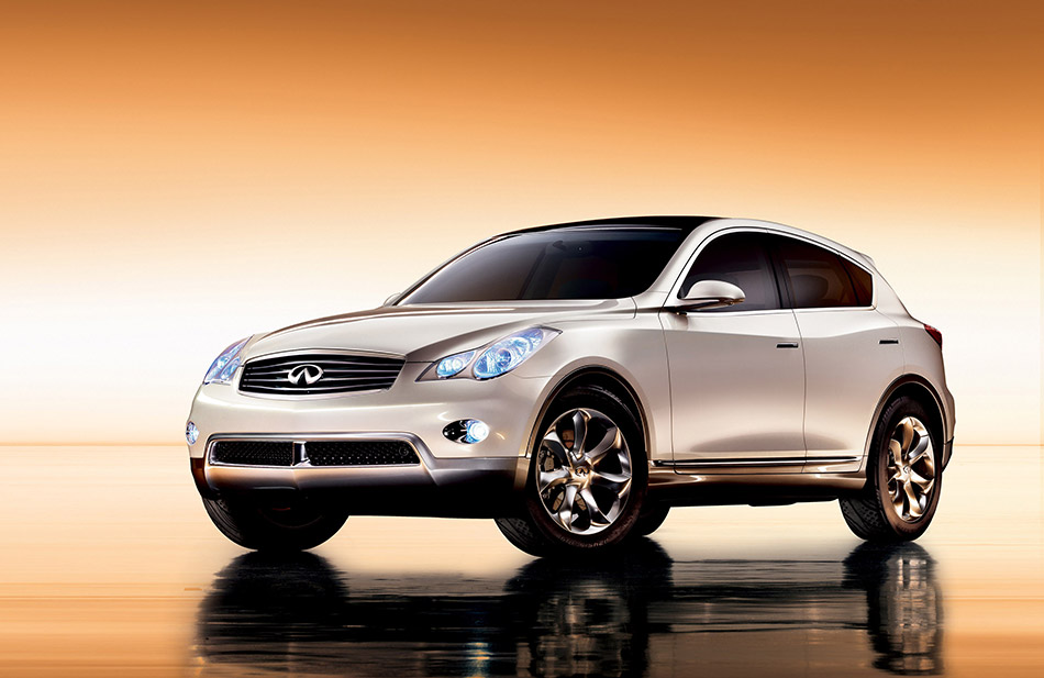2007 Infiniti EX Concept Front Angle