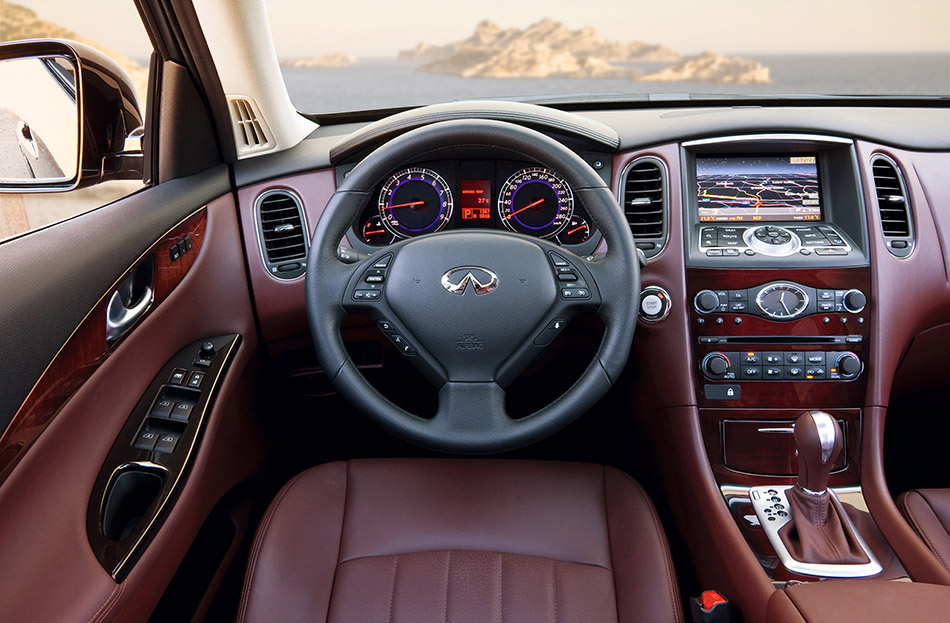 2009 Infiniti EX37 Interior