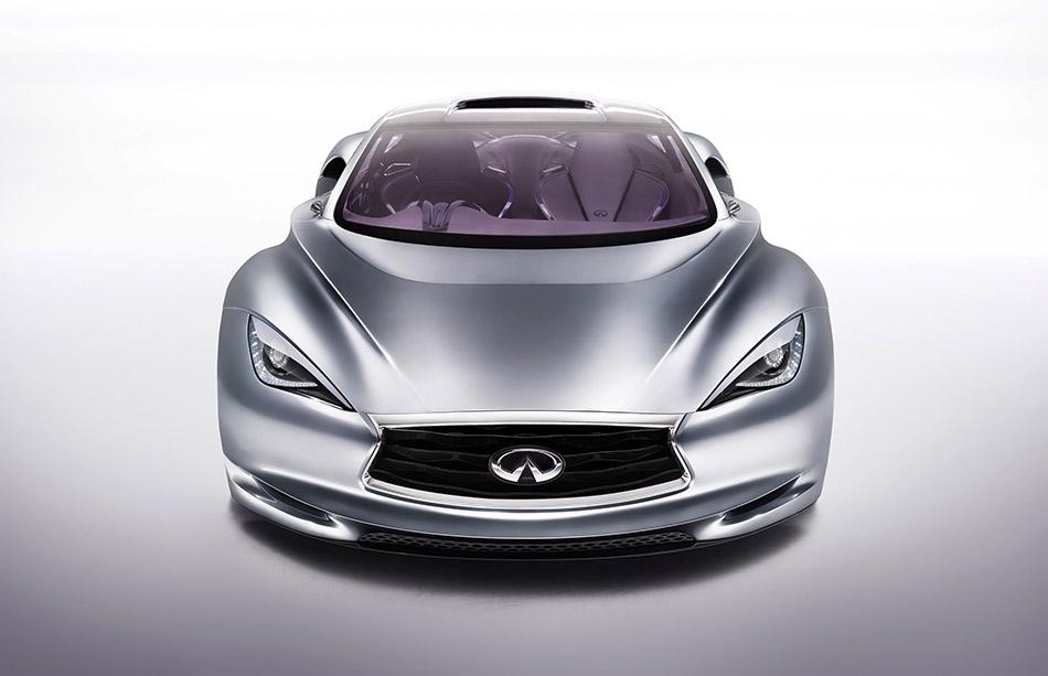 2012 Infiniti Emerg-E Concept Front Angle