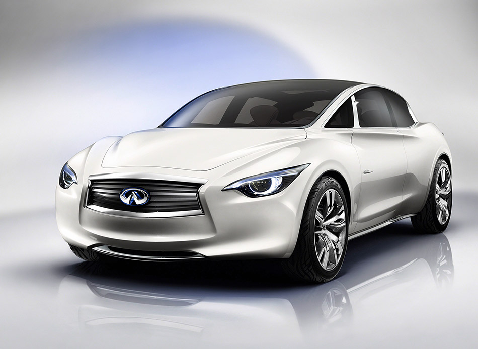 2011 Infiniti Etherea Concept Front Angle