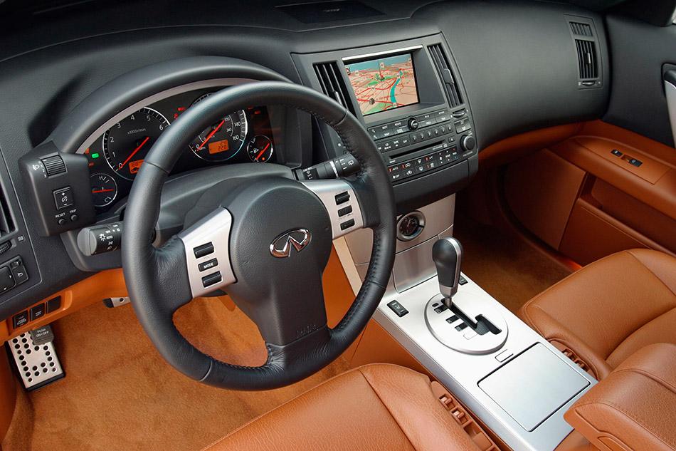 2003 Infiniti FX45 Interior