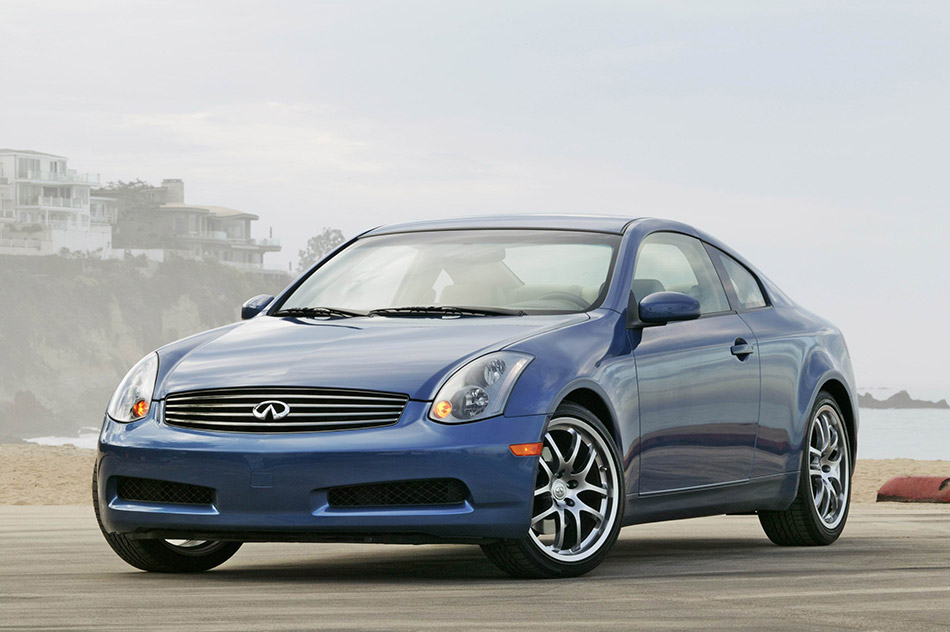 2005 Infiniti G35 Coupe Front Angle