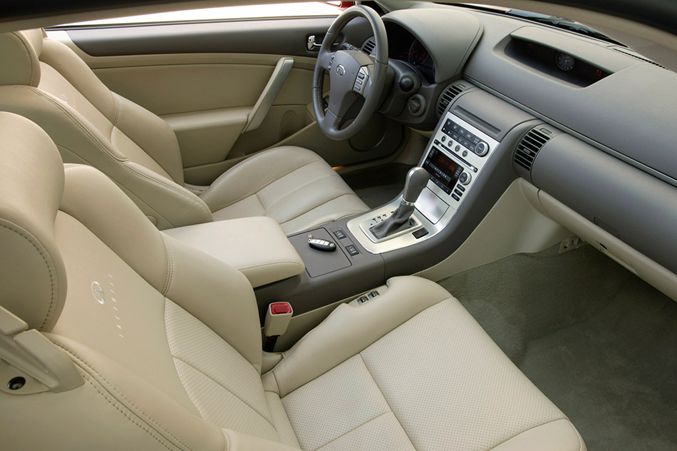 2006 Infiniti G35 Coupe Interior