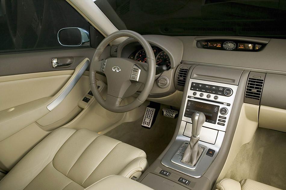 2005 Infiniti G35 Sedan Interior
