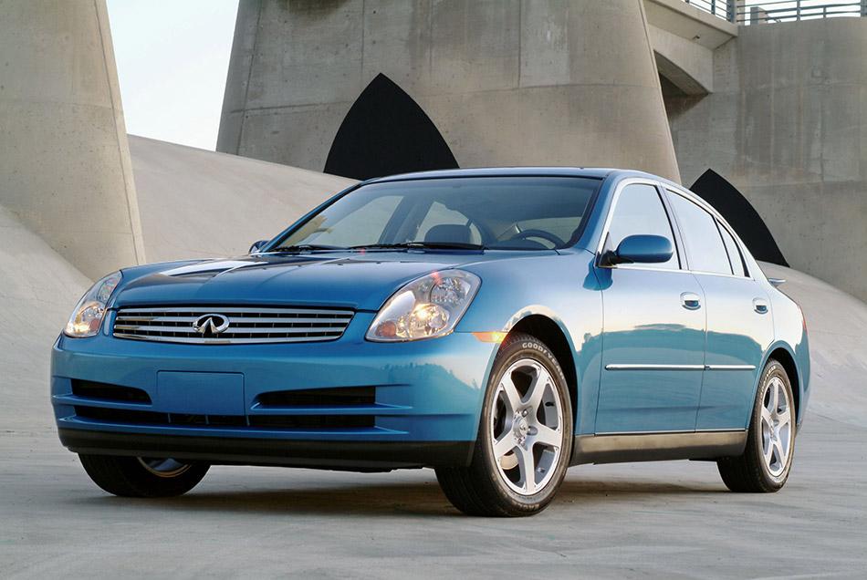 2003 Infiniti G35 Sport Sedan Front Angle