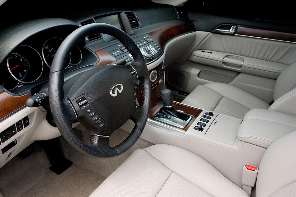 2008 Infiniti M45x Interior