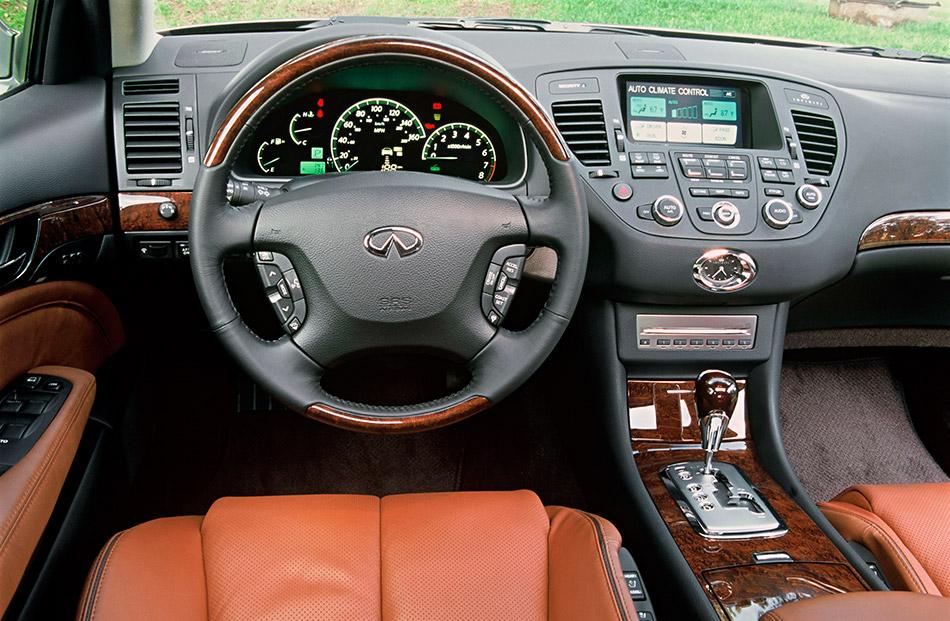 2005 Infiniti Q45 Interior