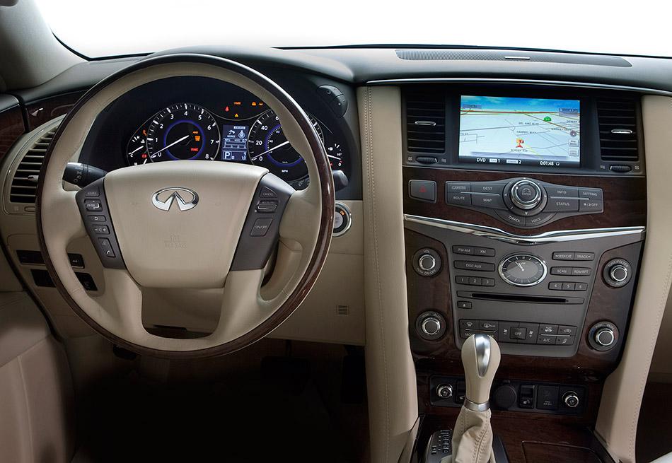 2011 Infiniti QX Interior