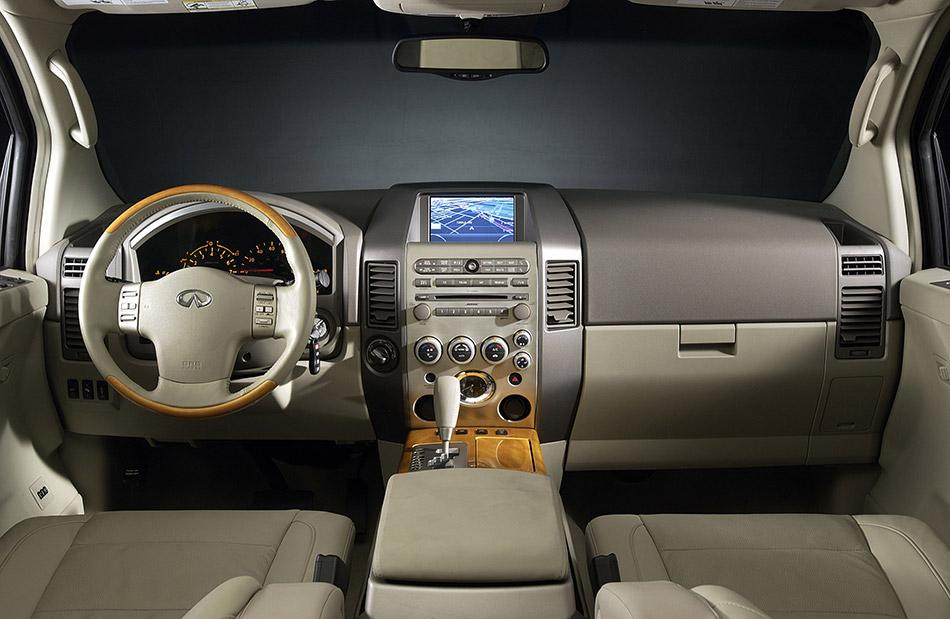 2004 Infiniti QX56 Interior