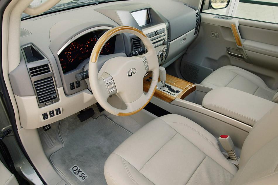 2006 Infiniti QX56 Interior