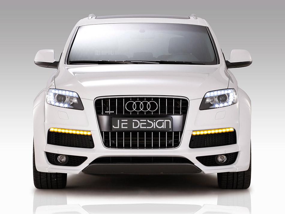 2011 JE DESIGN Audi Q7 S-Line Front Angle