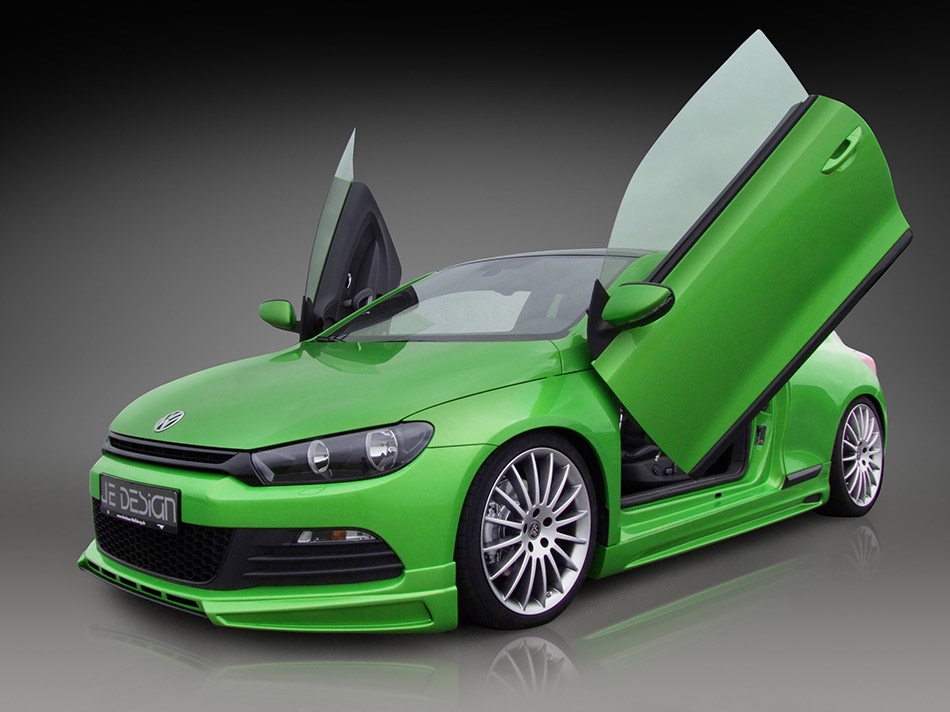 2009 JE DESIGN Volkswagen Scirocco Front Angle