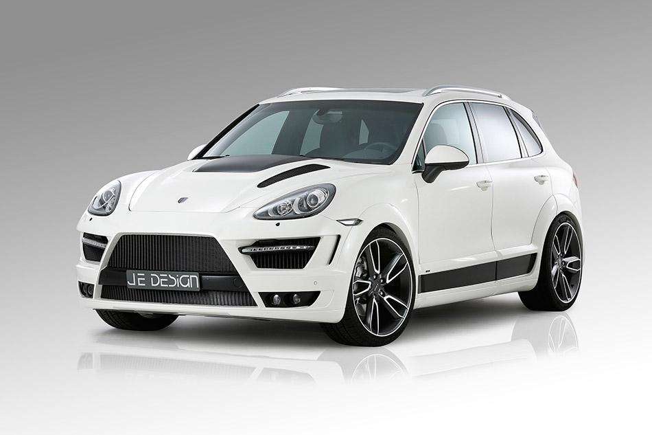 2012 JE Design Porsche Cayenne Progressor Front Angle