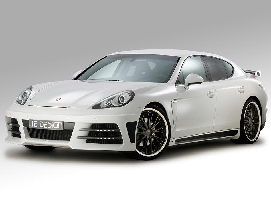 2012 JE Design Porsche Panamera 970 Front Angle