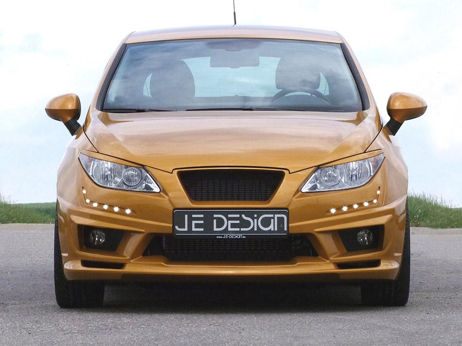 2012 JE Design Seat Ibiza 6J Gold Front Angle