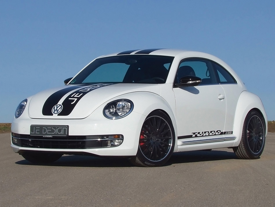 2012 JE Design Volkswagen Beetle Front Angle