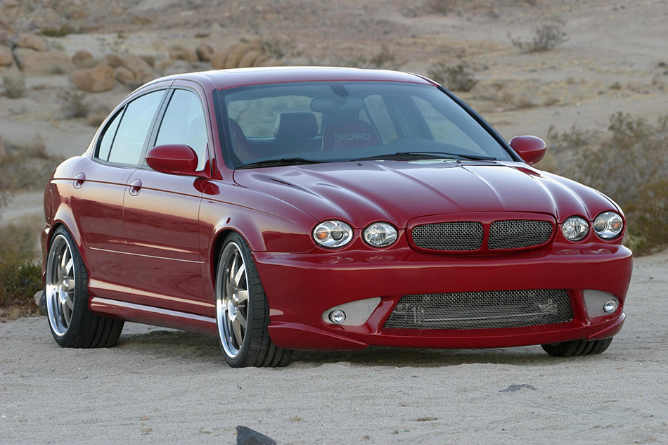 2004 Jaguar Bonspeed XType Front Angle