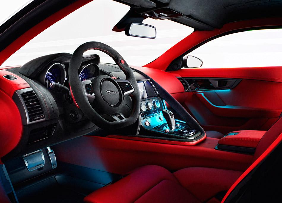 2011 Jaguar C-X16 Concept Interior