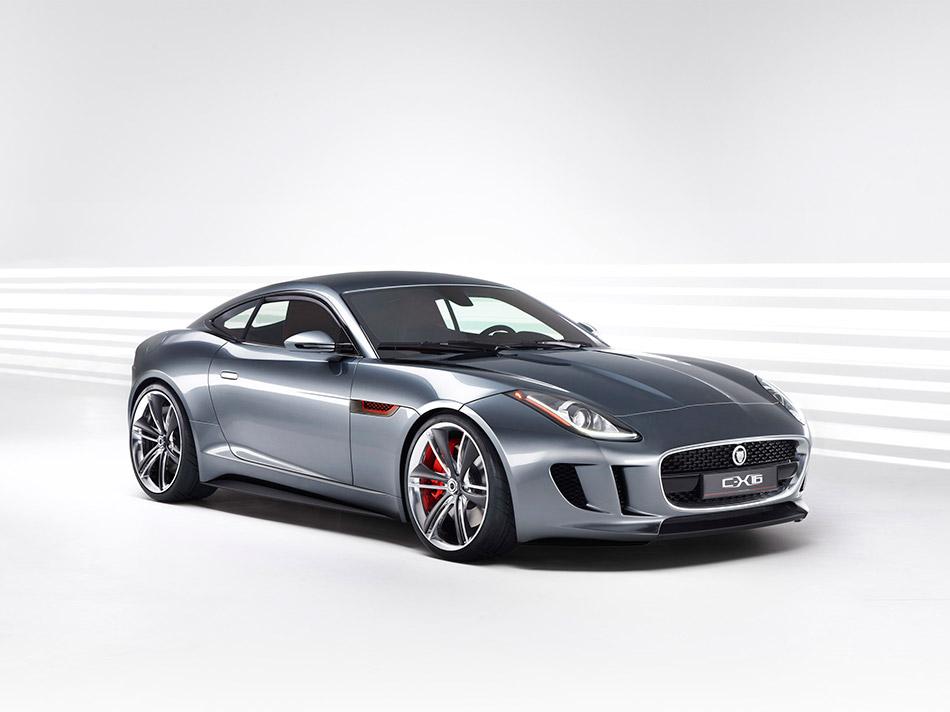 2011 Jaguar C-X16 Concept Front Angle