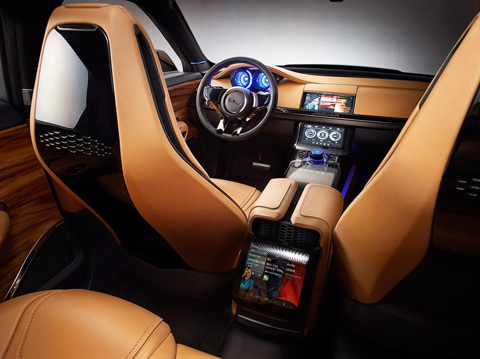 2013 Jaguar C-X17 5-Seater Concept Interior