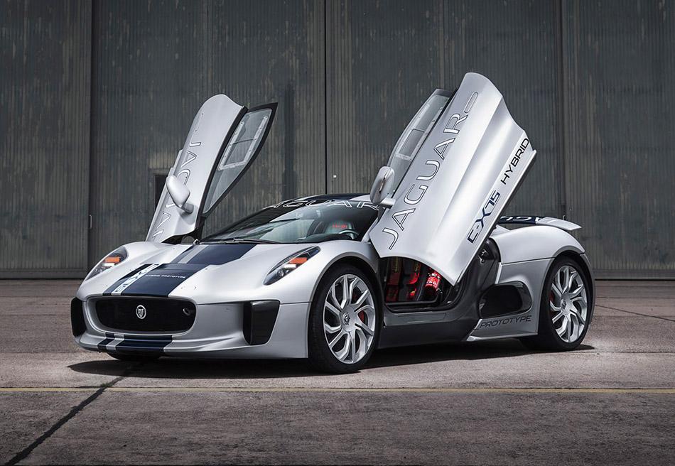 2013 Jaguar C-X75 Concept Front Angle