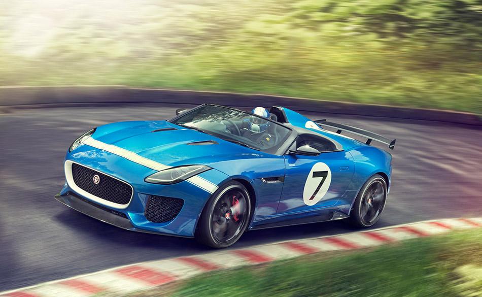 2013 Jaguar Project 7 Concept Front Angle